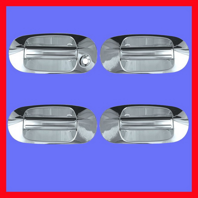 03-09 Ford Expedition Chrome Door Handle Cover Bezel 08