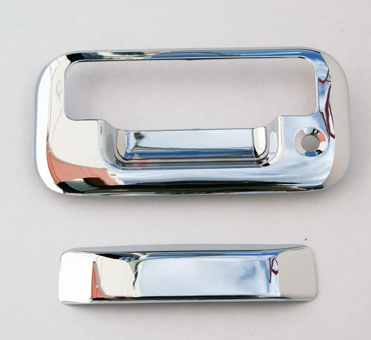 04-10 FORD F150 CHROME TAILGATE DOOR HANDLE COVER TRIM