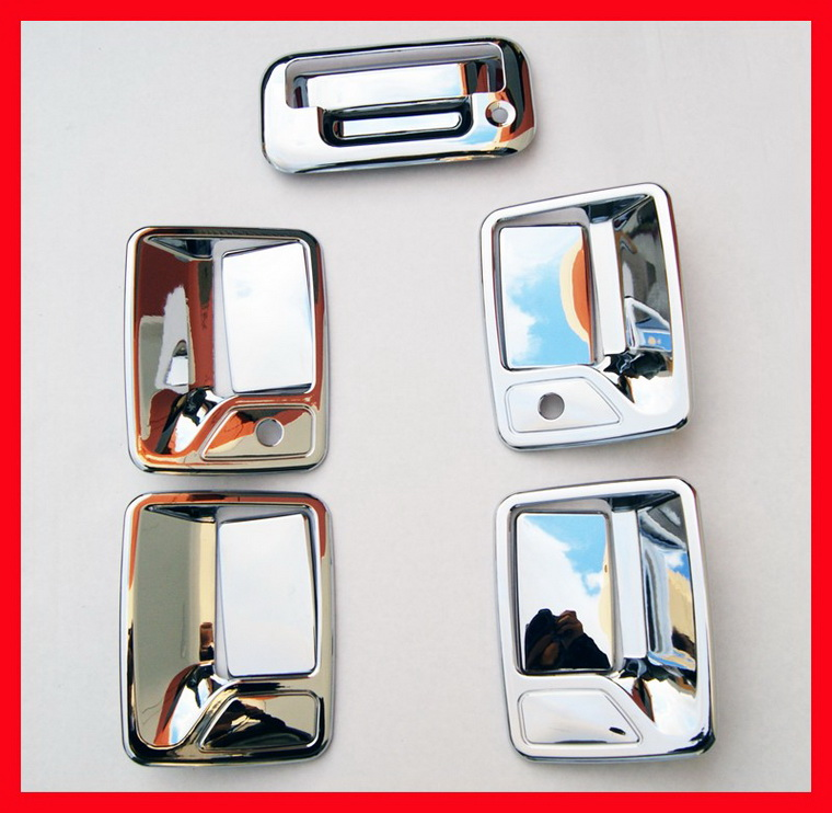 10-11 Ford F250 F350 Chrome Door Handle Covers Combo SD