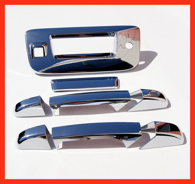 11 Silverado Sierra Chrome Door Tailgate Handle Covers