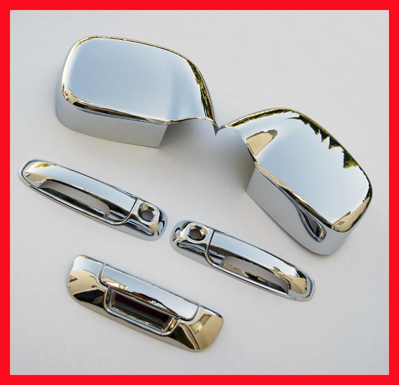 02 Dodge RAM Chrome Door Tailgate Handle Mirror Covers