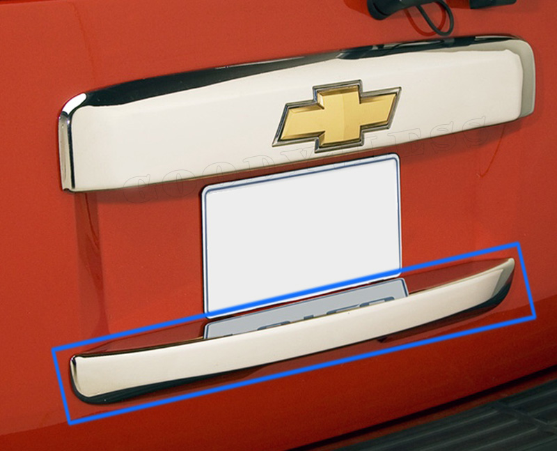 07 10 Chevy Tahoe Suburban Chrome Tailgate Handle Cover